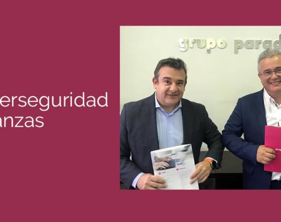 Acuerdo de partnership entre Grupo Paradell y Kymatio por la ciberseguridad