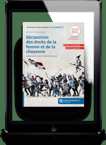 Image produit Français 1re - Classique Olympe de Gouges