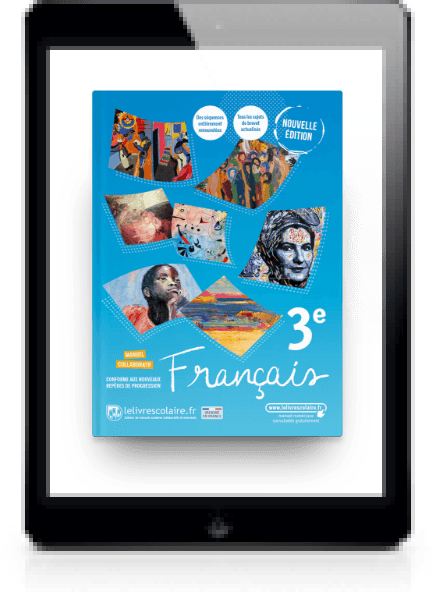 Image produit Français 3e 2021 et son cahier