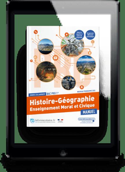 Image produit Histoire-Géographie-EMC 1re bac pro