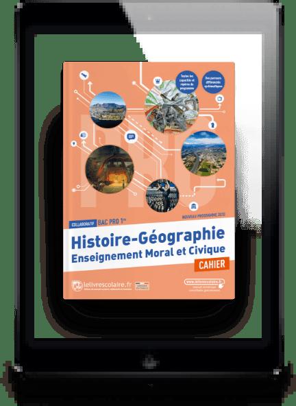 Image produit Histoire-Géographie-EMC Cahier 1re bac pro