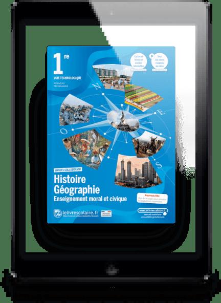 Image produit Histoire-Géographie-EMC 1re Techno