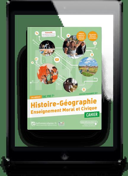 Image produit Histoire-Géographie-EMC Cahier Tle bac pro