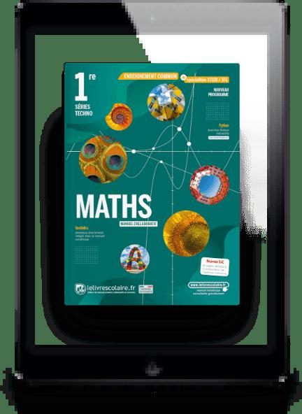 Image produit Mathématiques 1re Techno