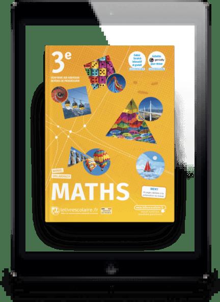 Image produit Mathématiques 3e et son cahier