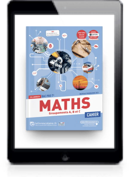 Image produit Mathématiques Cahier Tle bac pro