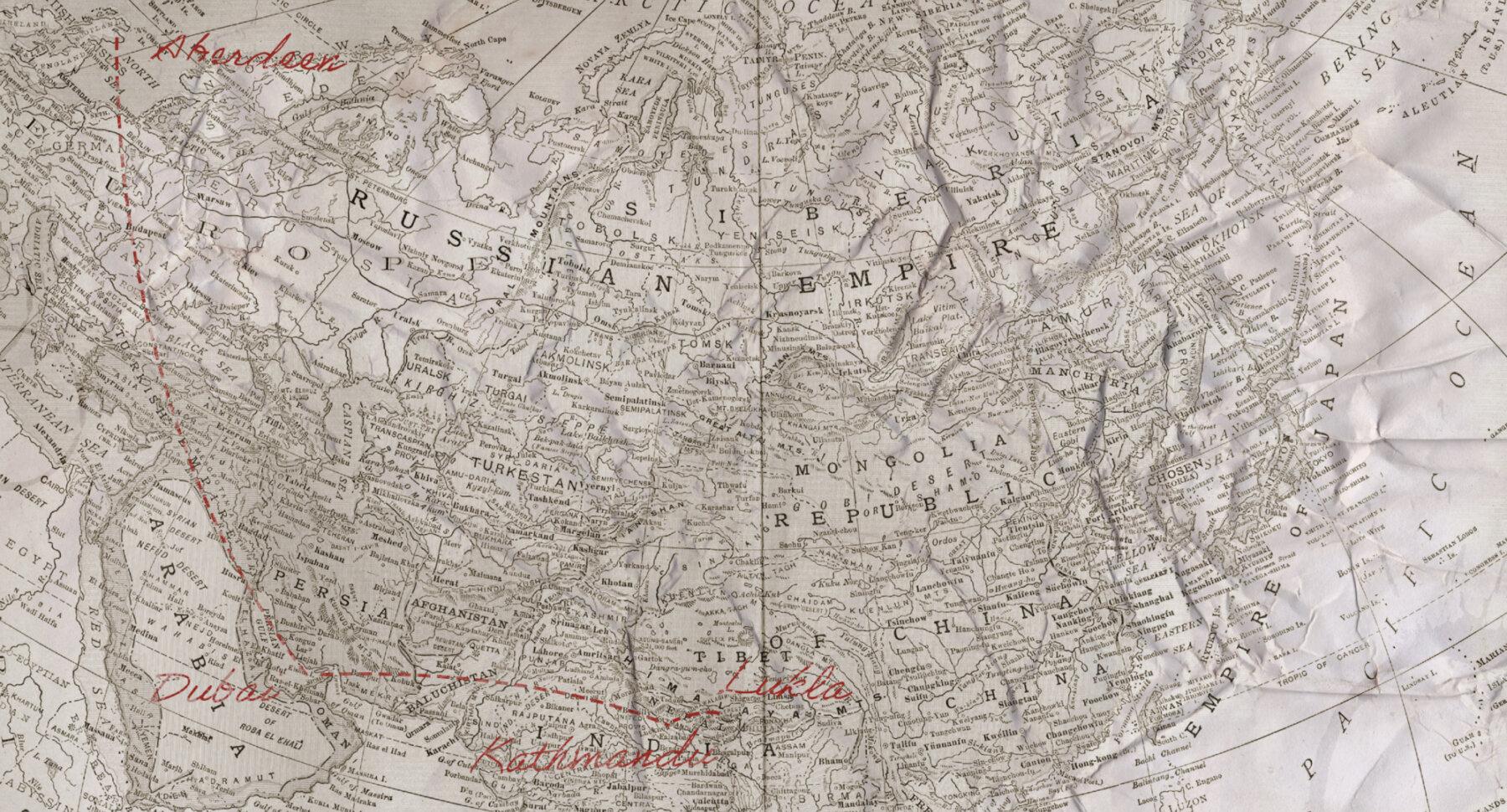 Lee_Chapman_Way_To_Everest_Map