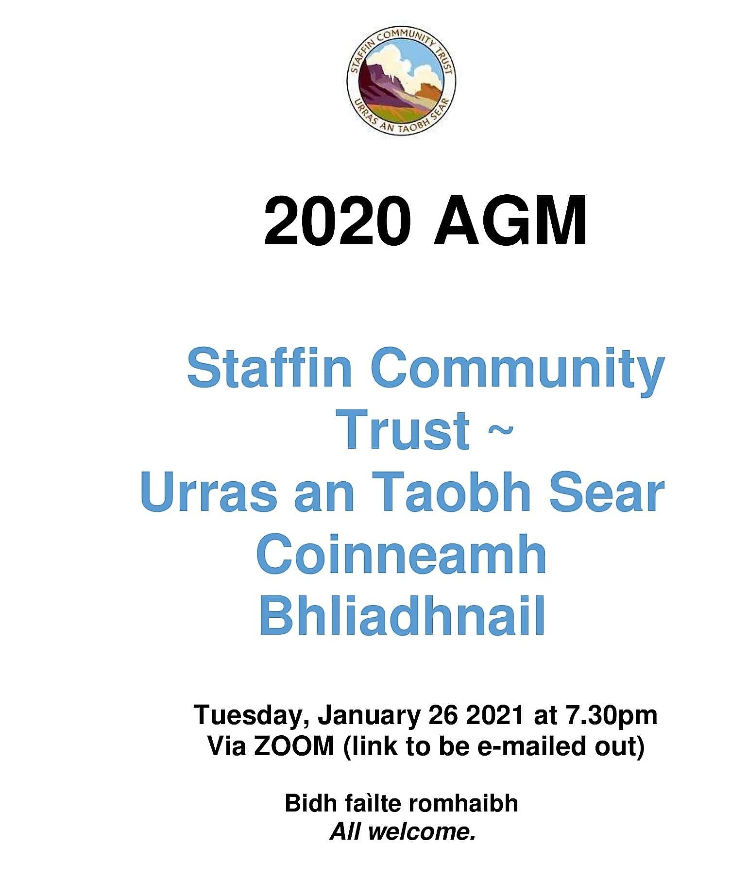 Staffin Community Trust's first digital AGM
