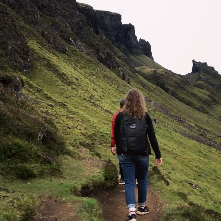 Hiking along The Qui