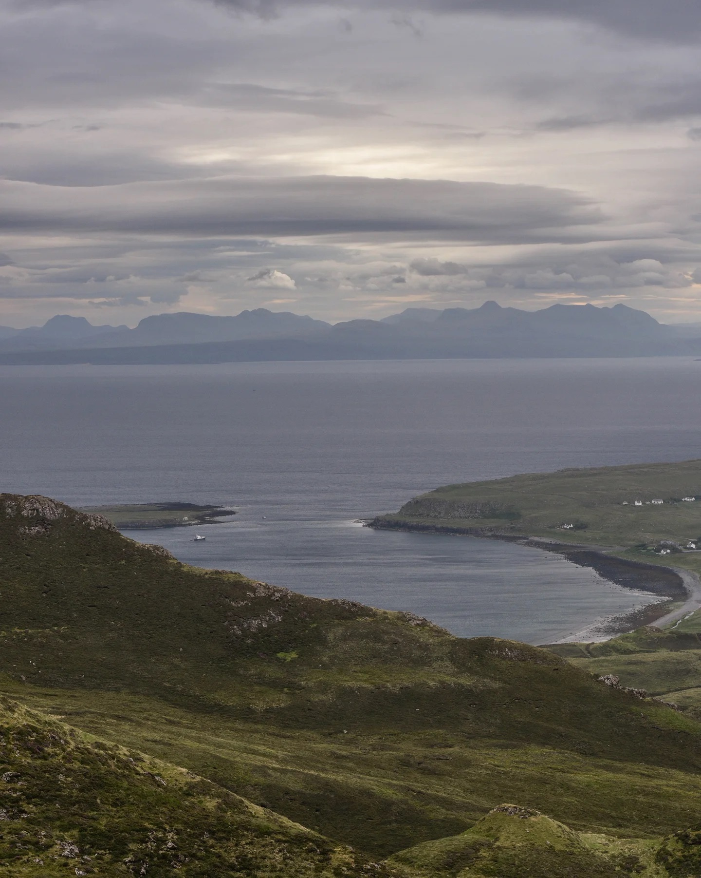 Staffin from the Qui