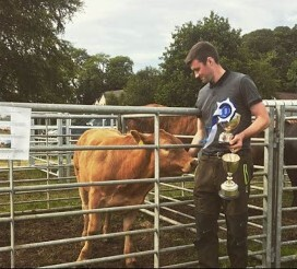 Young Staffin stockman's debut success at Skye Agri Show