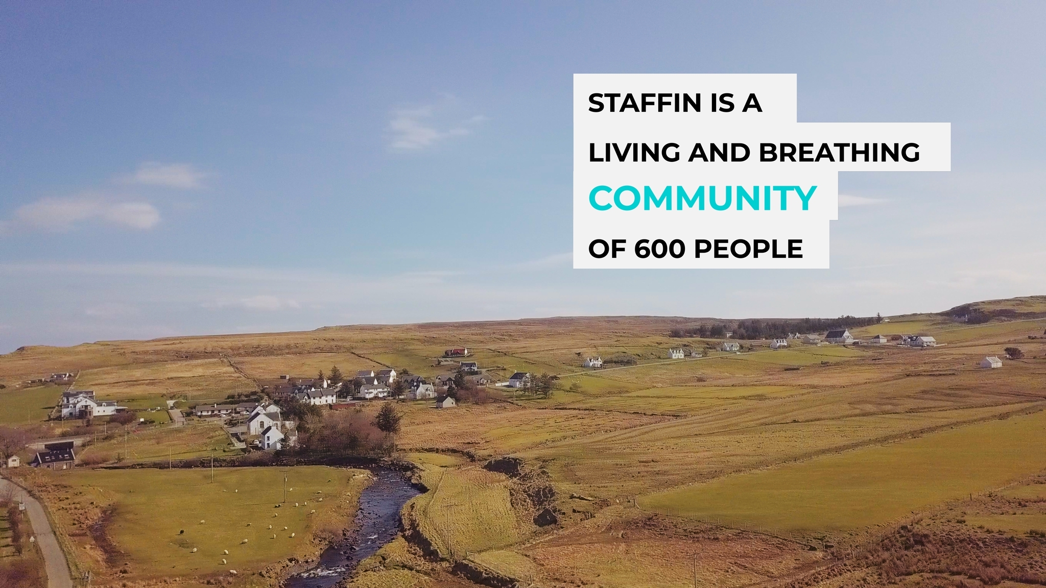 Staffin affordable housing development crowdfunding campaign goes live