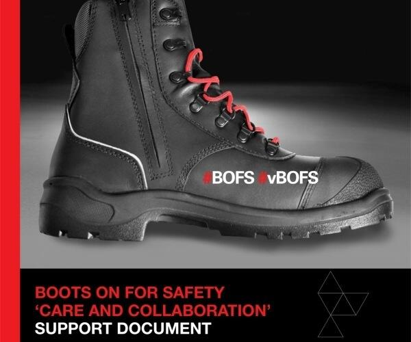 Boots on For Safety 600 x 500