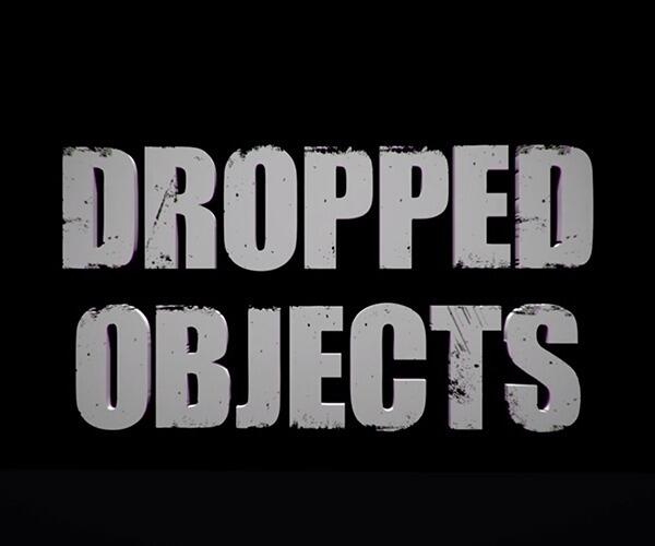 Dropped Objects 600x500