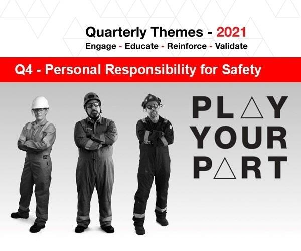 Personal Responsibility for Safety Q4 carousel image
