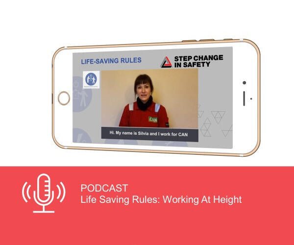 Podcast LSR Working At Height 600x500
