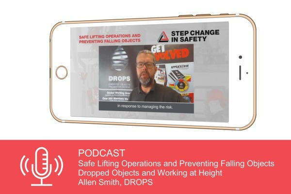 SCiS podcast: Q2 2021: Dropped objects - Allen Smith, DROPS