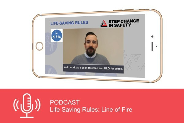 Podcast: Life Saving Rules - Line of Fire