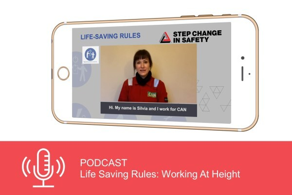 Podcast: Life Saving Rules - Working At Height