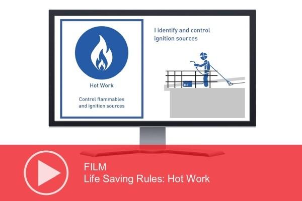 Video: Life Saving Rules – Hot Work