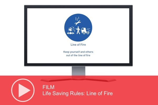 Video: Life Saving Rules – Line of Fire