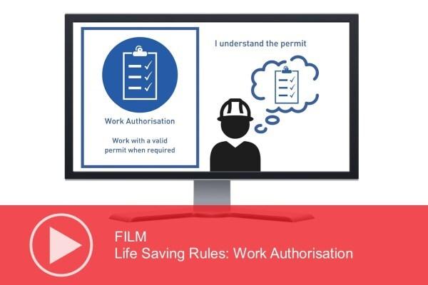 Video: Life Saving Rules – Work Authorisation