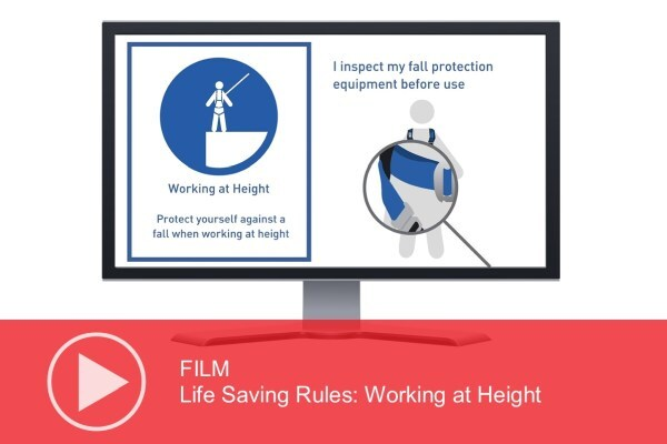 Video: Life Saving Rules – Working at Height