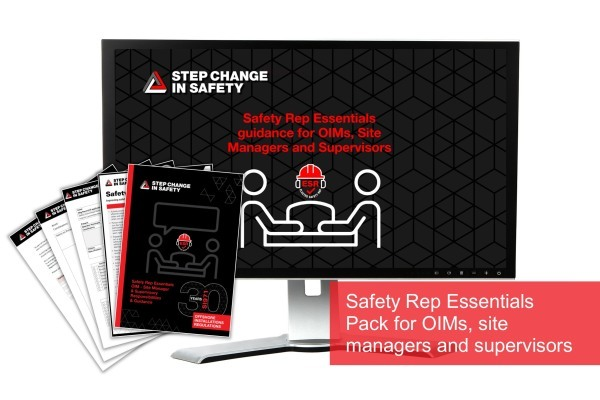 Safety Rep Essentials Pack for OIMs, site managers and supervisors