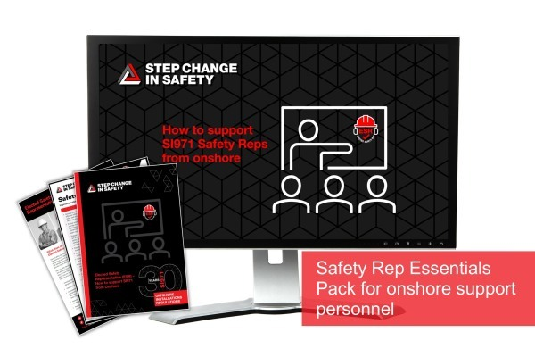 Safety Rep Essentials Pack for Onshore Support Personnel