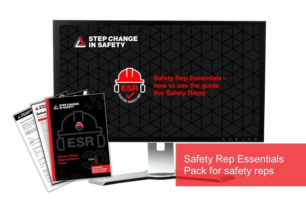 Safety Rep Essentials Pack for Elected Safety Reps