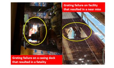Grating failures image