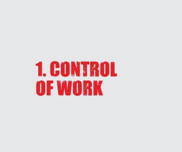 1 Control of Work