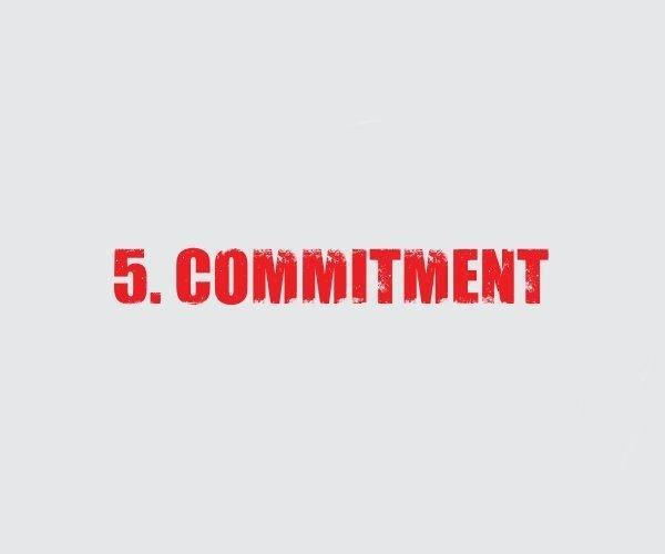 5 Commitment