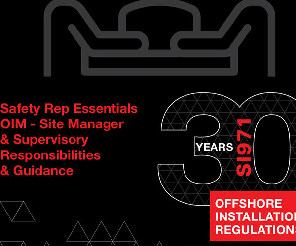 Elected Safety Reps OIM site manager supervisory responsibilities