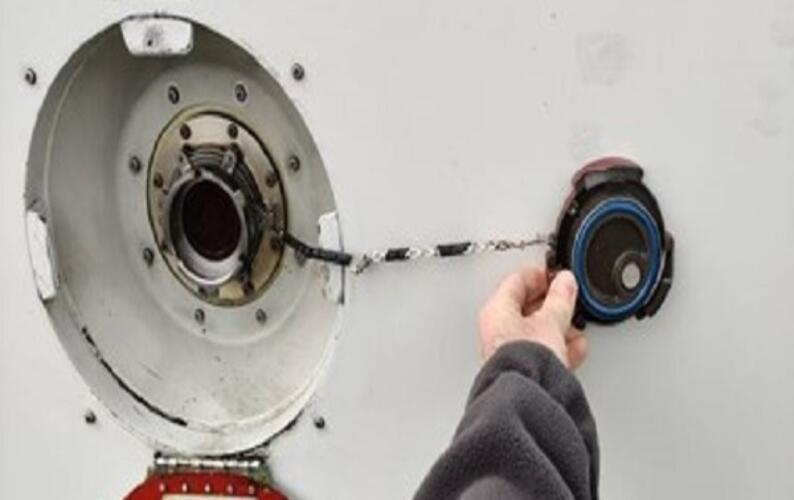 Helicopter fuel cap 1