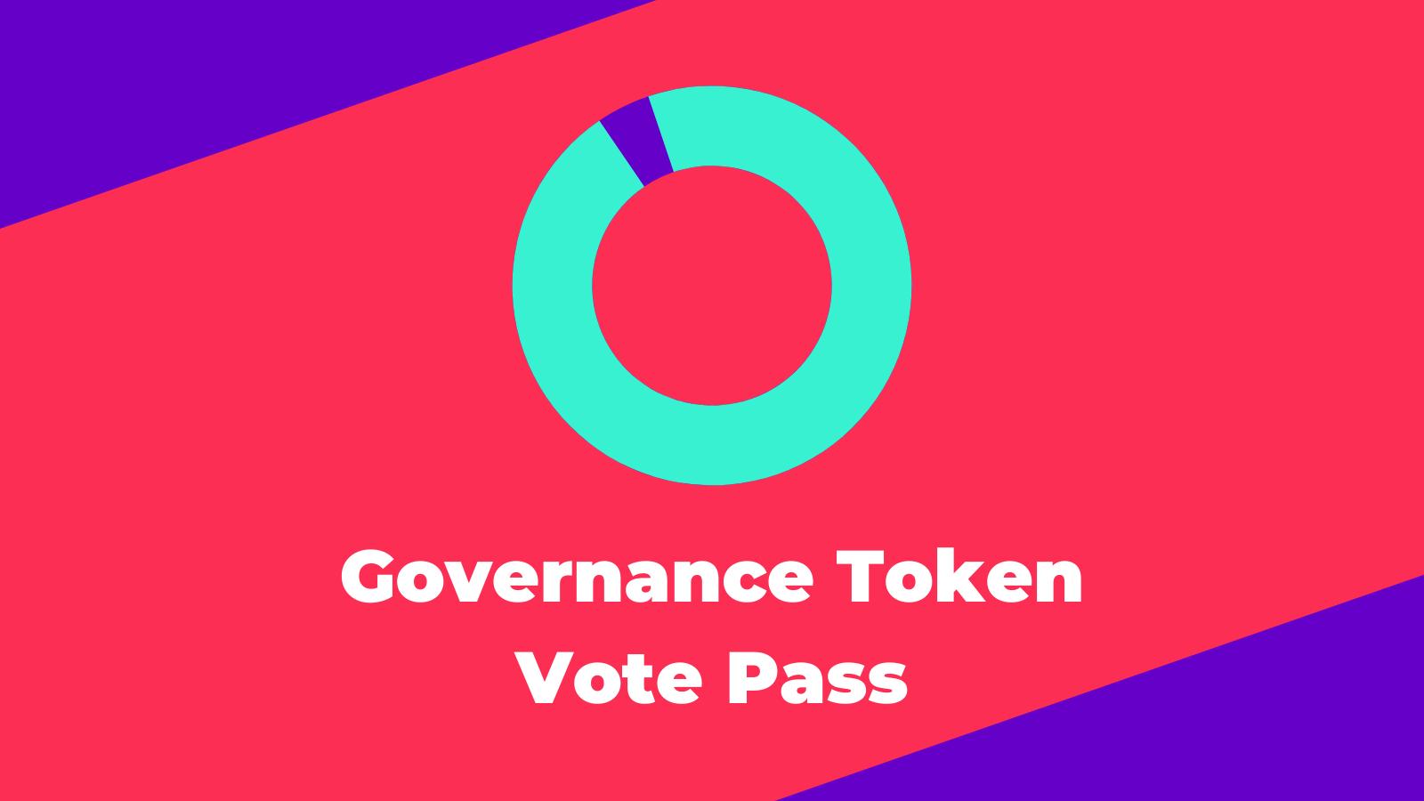 Governance Vote Passed