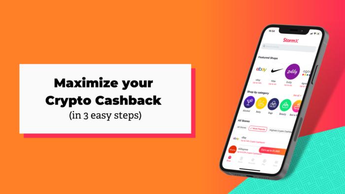 Crypto Cashback and easy way into crypto 3