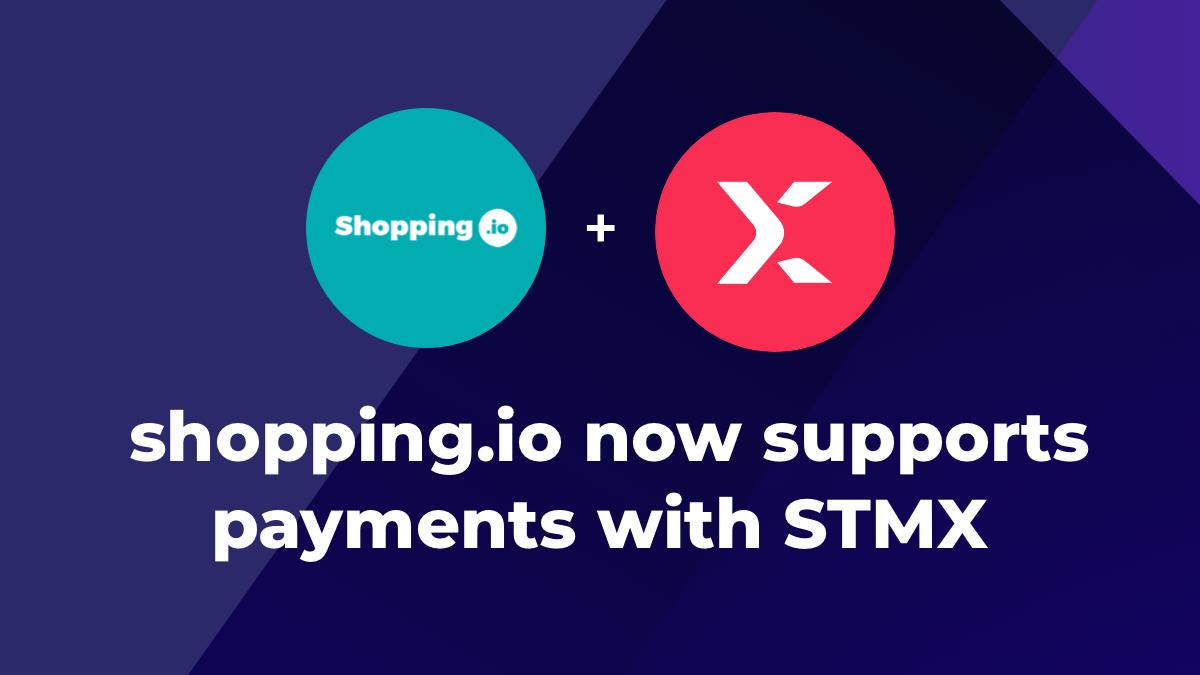 StormX x Shopping.io