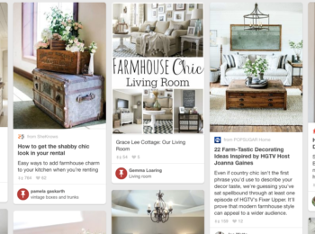 HOW TO CREATE A PINTEREST BOARD FOR INTERIOR DESIGN