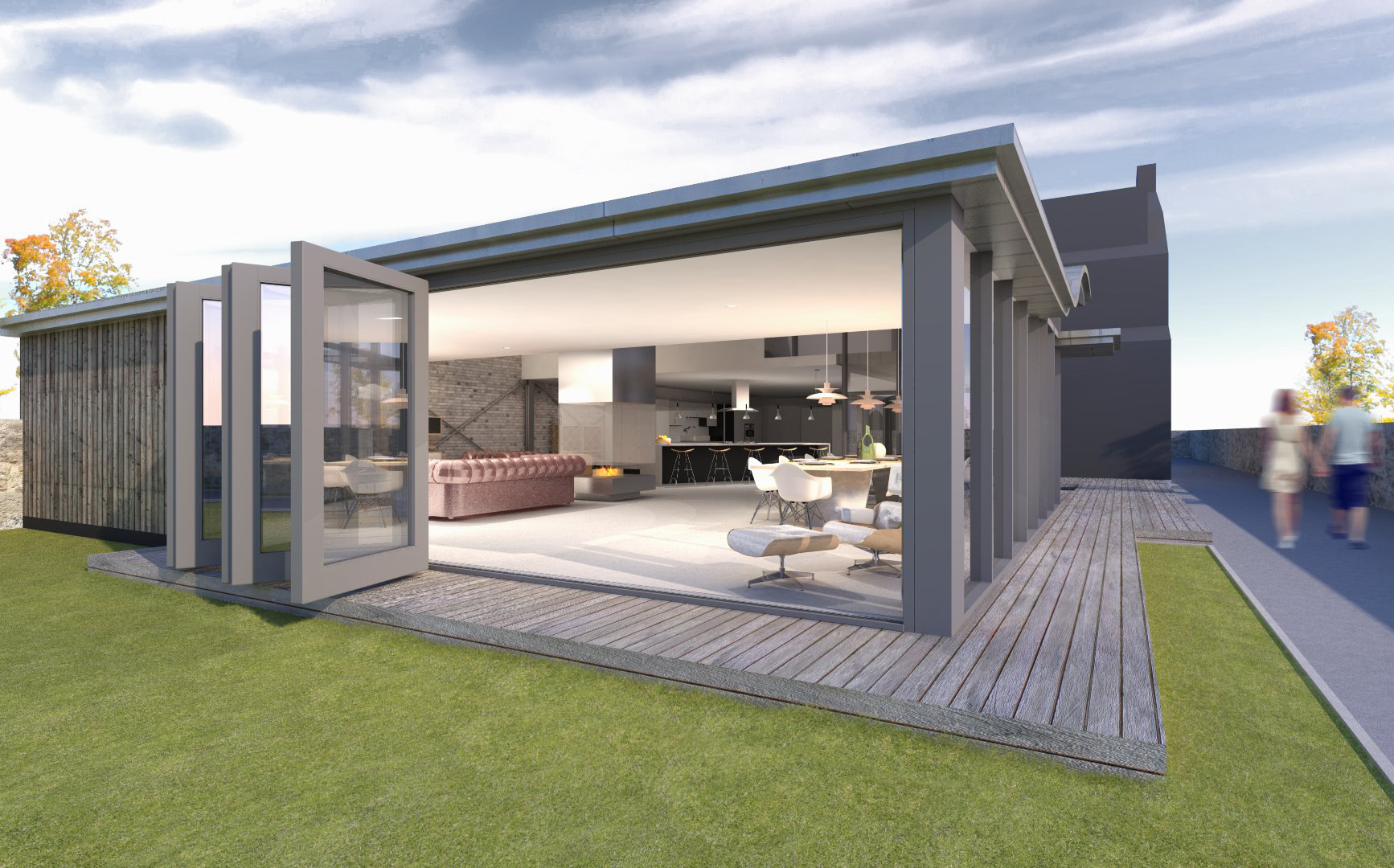 Forest Road House Extension
