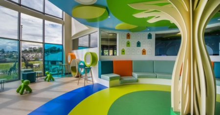Reception Area – Royal Aberdeen Children's Hospital
