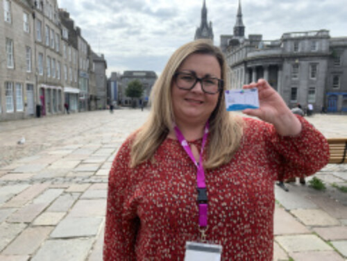 Scottish Government backs Local Charity's Drive to Make Carers Visible