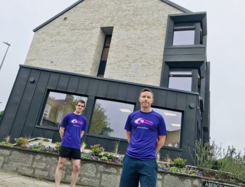 bp employees Mike and Iain to run the Virtual London Marathon in aid of VSA