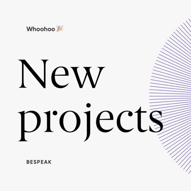 Bespeak New project Instagram 2