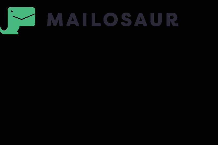 Mailosaur logo orgineel
