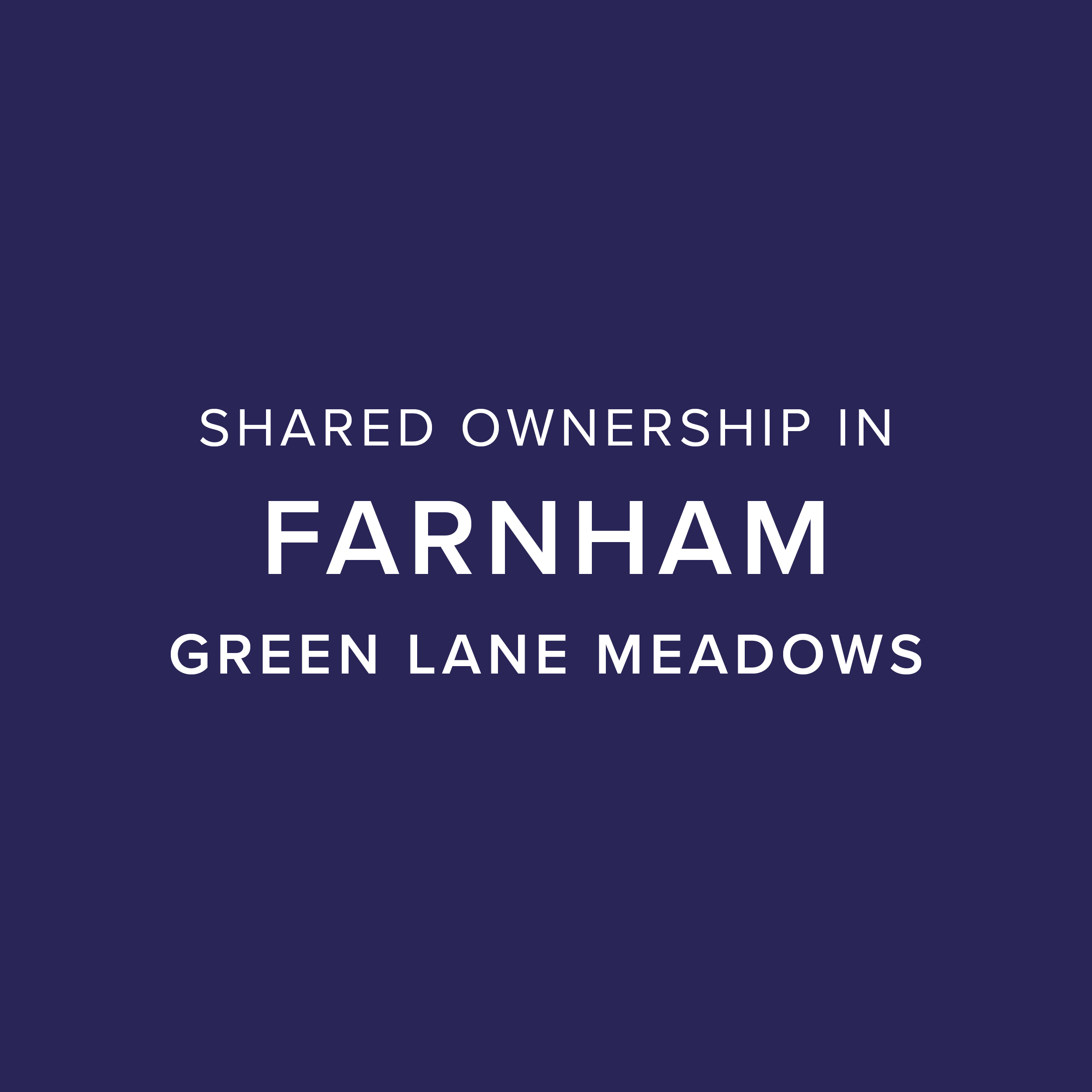 Green Lane Meadows, Farnham