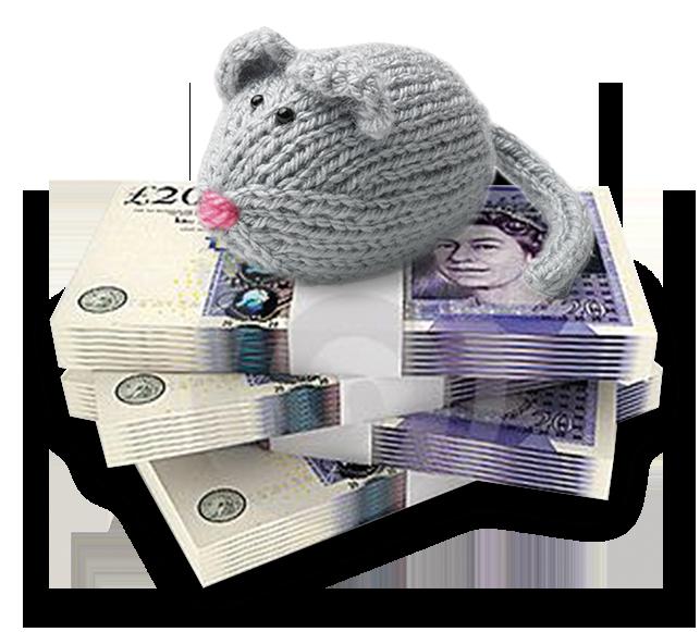 mouse money