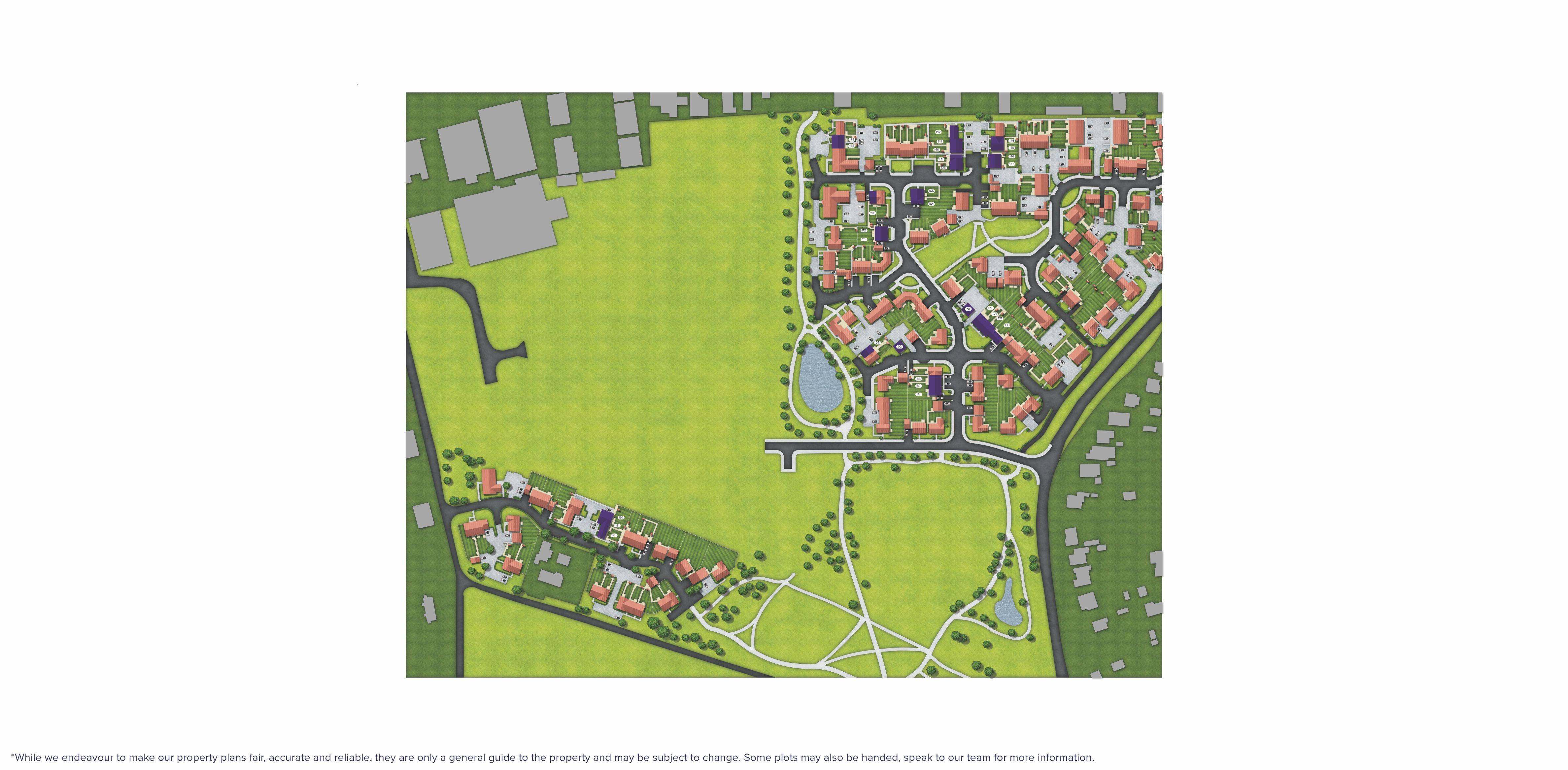 Beaumont Park site map