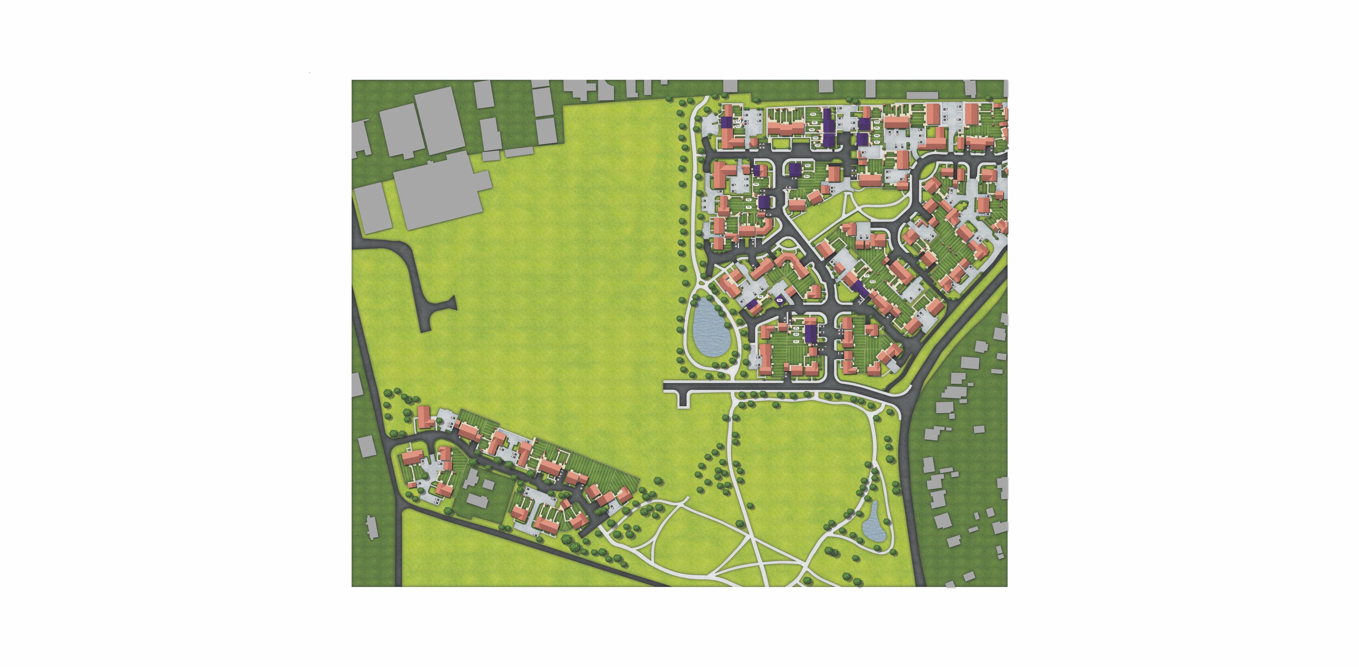 Beaumont Park, Site Map