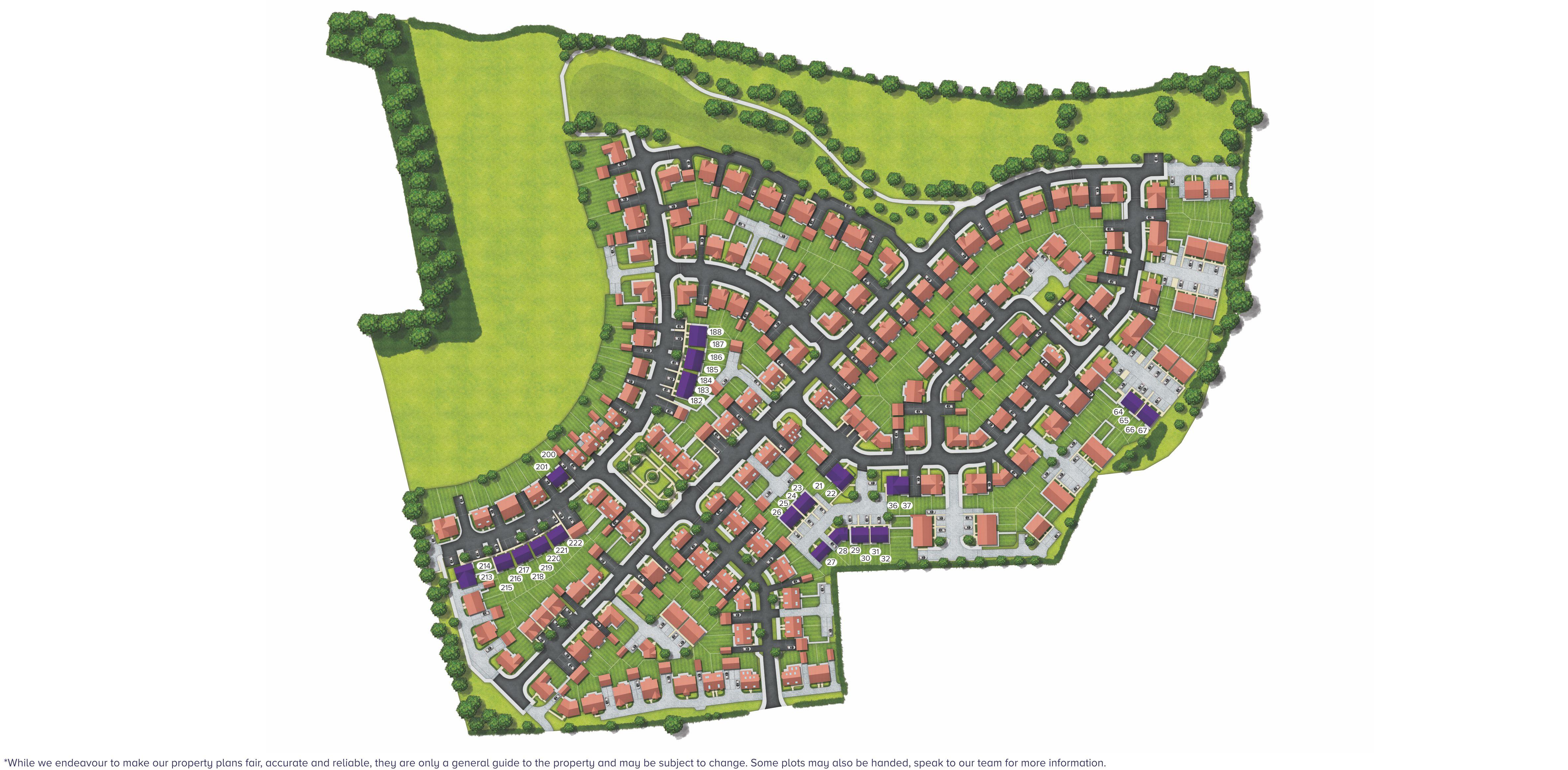 Kingfisher Meadows Site Plan